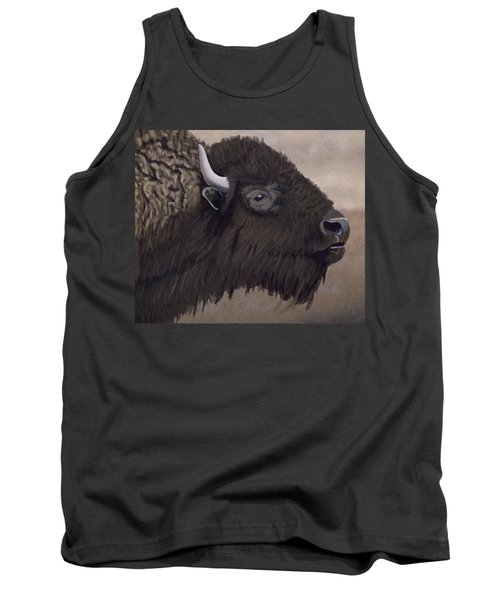 Bison Tank Top by Jacqueline Barden