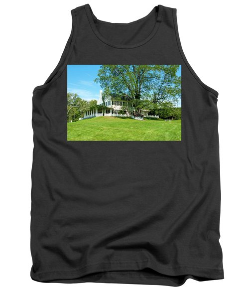 Tank Top featuring the photograph Bit O Nh History by Greg Fortier