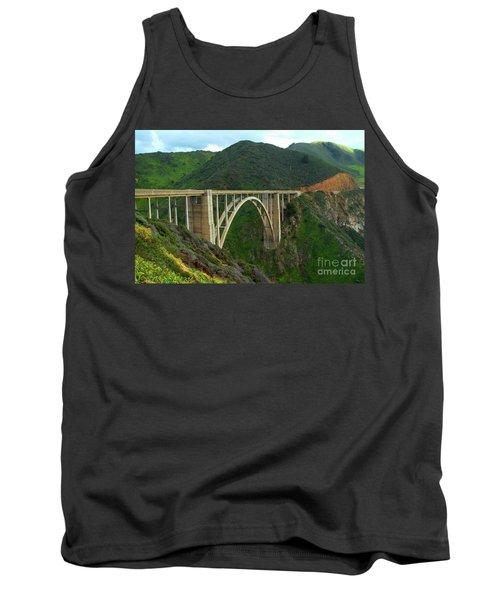 Bixby Bridge In Big Sur Tank Top