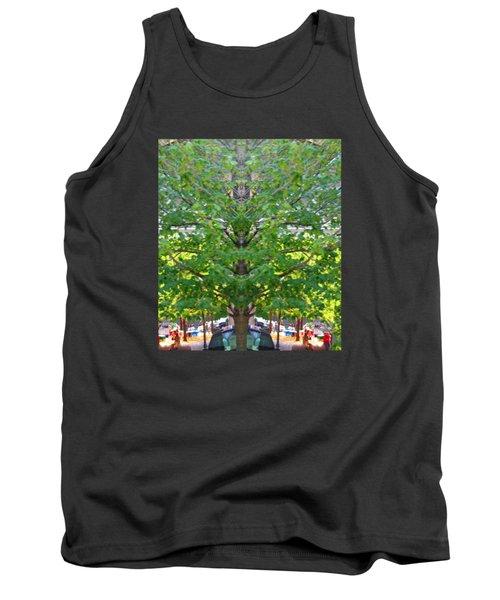 Bizarre Fun Tree Tank Top