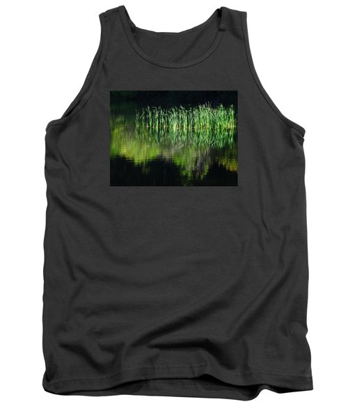 Black And Green Tank Top