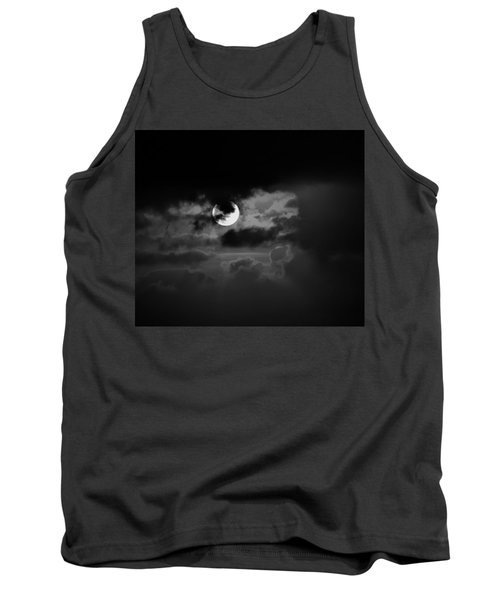 Black And Grey Tank Top by John Glass
