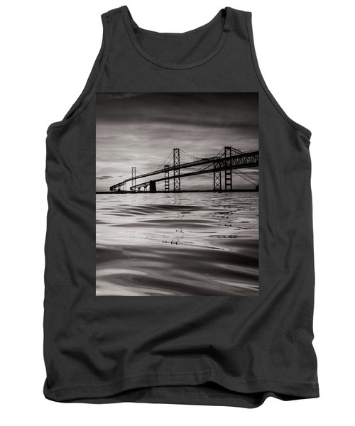 Black And White Reflections 2 Tank Top