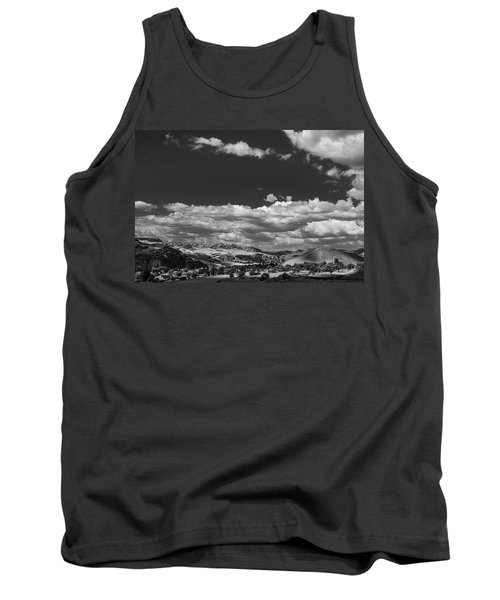 Black And White Small Town  Tank Top