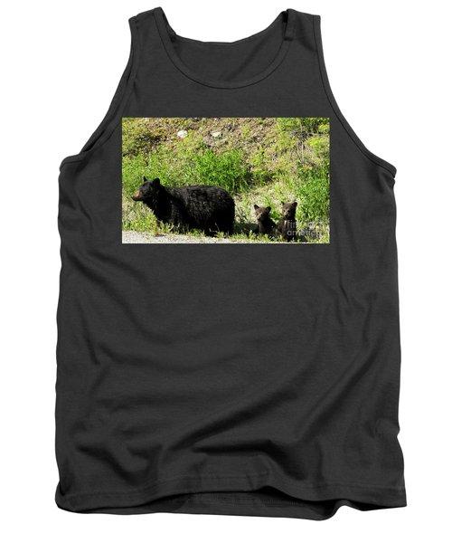 Black Bear Family Tank Top