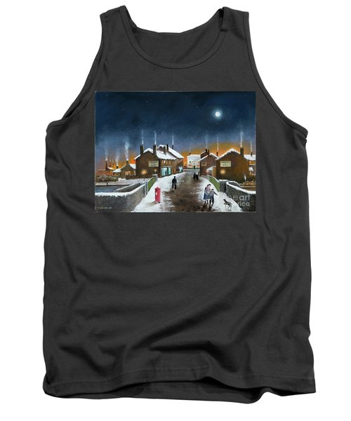 Black Country Winter Tank Top