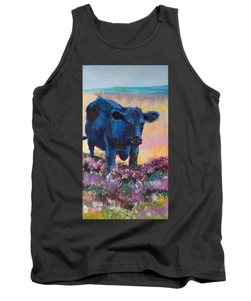Black Cow On Dartmoor - Looking Moody Tank Top