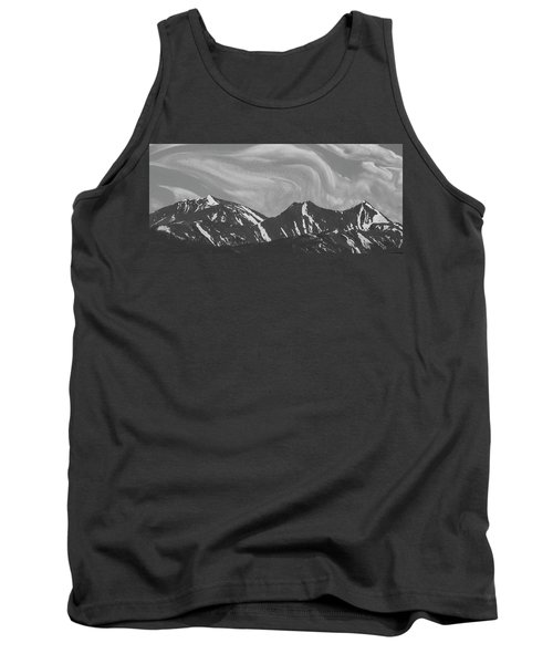Black Day Mountain Tank Top