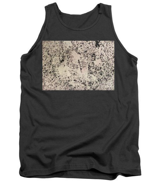Black Ecru Tank Top