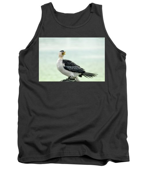 black faced Cormorant 02 Tank Top by Kevin Chippindall