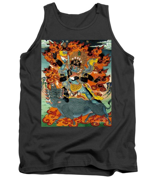 Black Hayagriva Tank Top