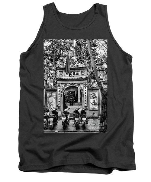 Black Pagoda Hanoi Tank Top