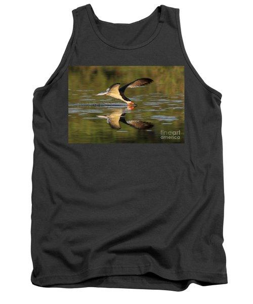Black Skimmer Fishing Tank Top
