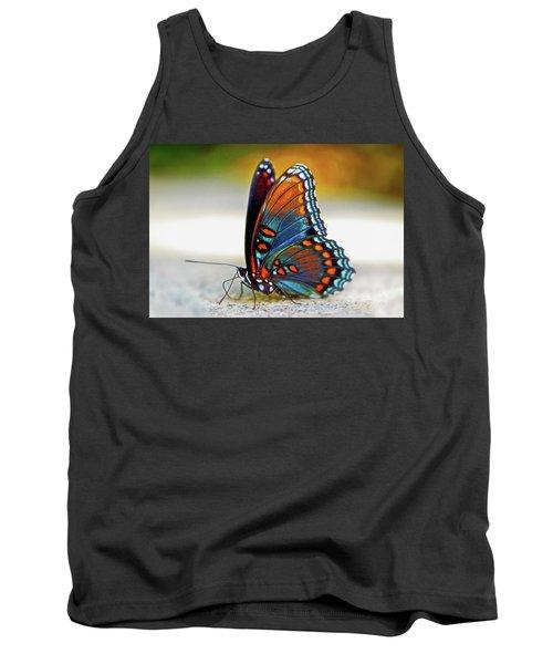 Black Swallowtail Butterfly 003 Tank Top