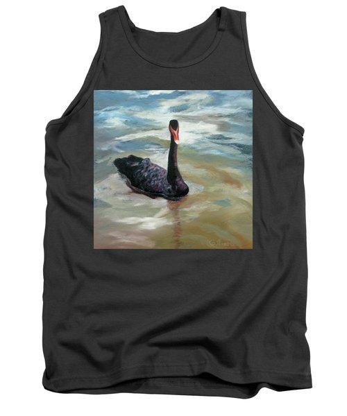 Black Swan Tank Top by Roseann Gilmore