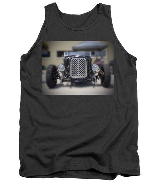 Black T-bucket Tank Top