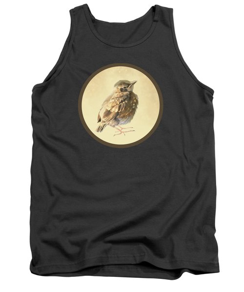 Blackbird Fledgeling Tank Top by Bamalam  Photography