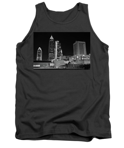 Tank Top featuring the photograph Blackest Night In Cle by Frozen in Time Fine Art Photography