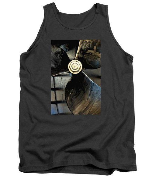 Tank Top featuring the photograph Blade by Newel Hunter