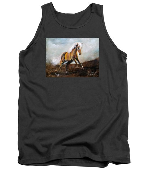 Blanket The War Pony Tank Top by Barbie Batson