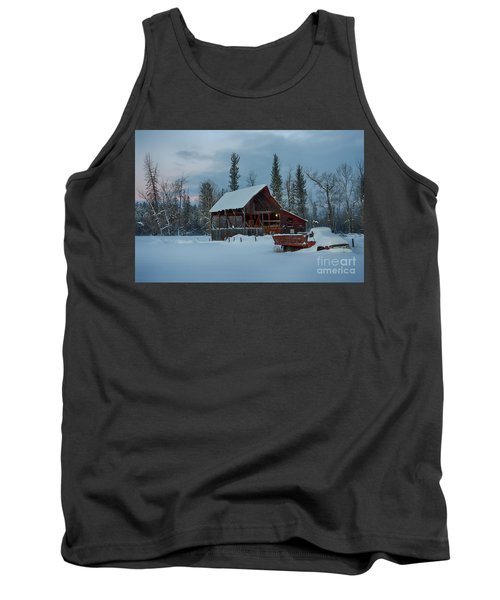 Blanketed Tank Top
