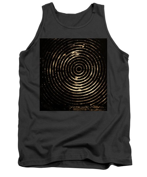 Bleached Circles Tank Top by Cynthia Powell