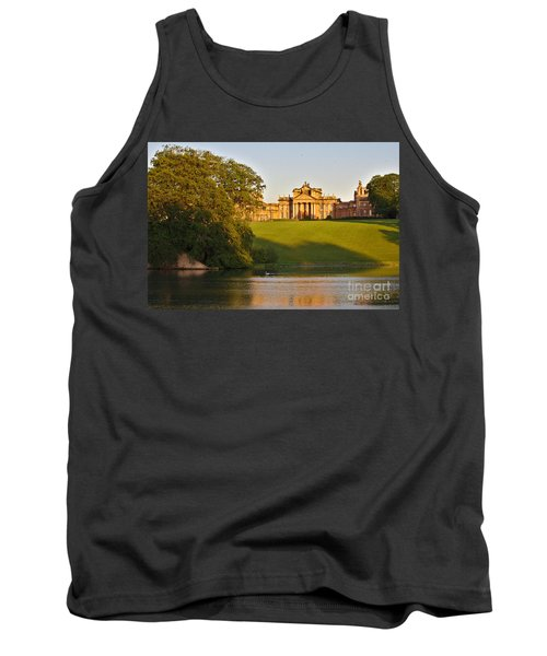 Blenheim Palace And Lake Tank Top