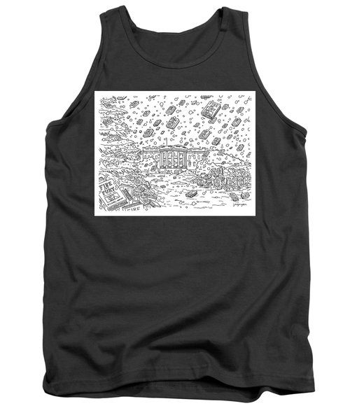 Blizzard Of Fire And Fury Tank Top