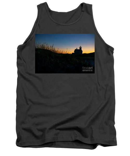 Block Island North Light Tank Top