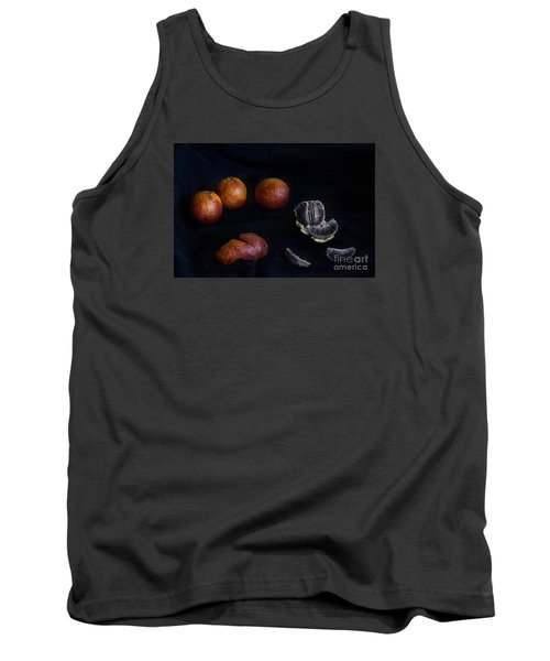 Tank Top featuring the photograph Blood Orange Symphony by William Fields