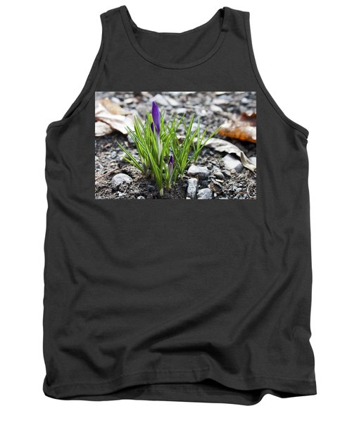Tank Top featuring the photograph Bloom Awaits by Jeff Severson