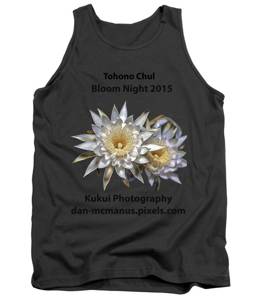 Bloom Night T Shirt Tank Top by Dan McManus