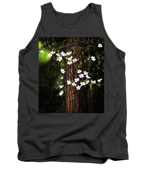 Blooming Dogwoods In Yosemite Tank Top