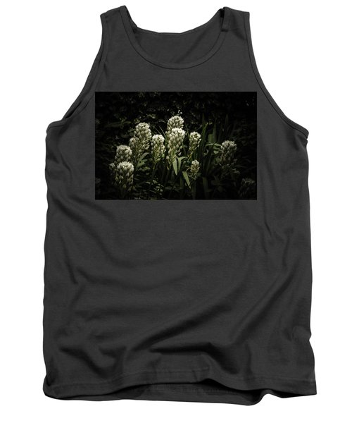 Tank Top featuring the photograph Blooming In The Shadows by Marco Oliveira