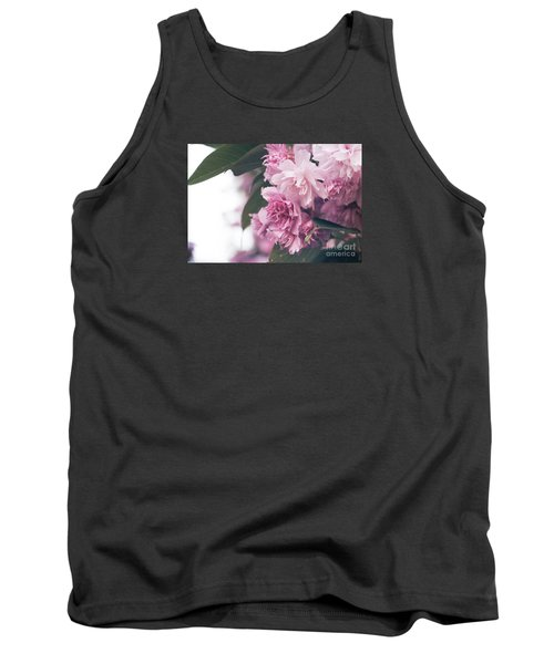 Blooming Pink Tank Top by Rebecca Davis