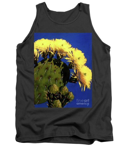 Blooming Prickly Pear Tank Top