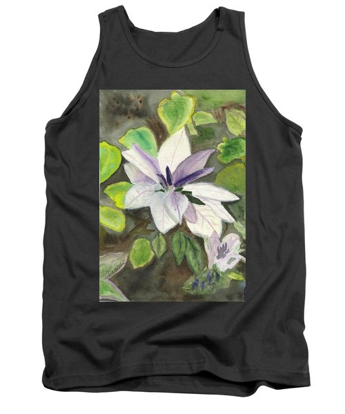 Tank Top featuring the painting Blossom At Sundy House by Donna Walsh