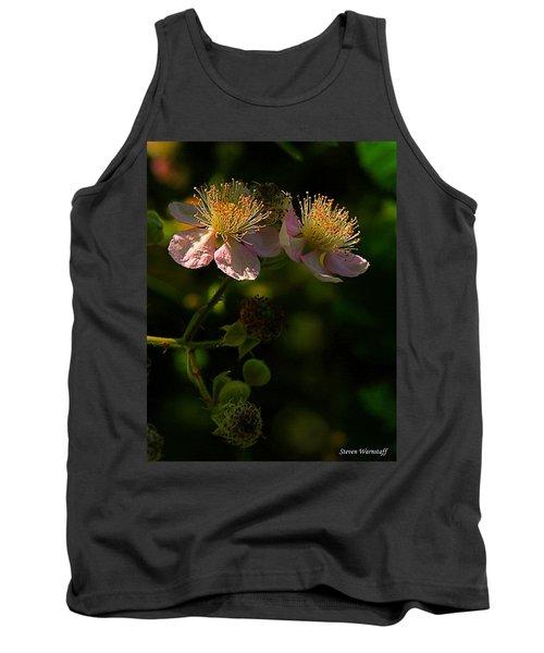 Blossoms 3 Tank Top by Steve Warnstaff