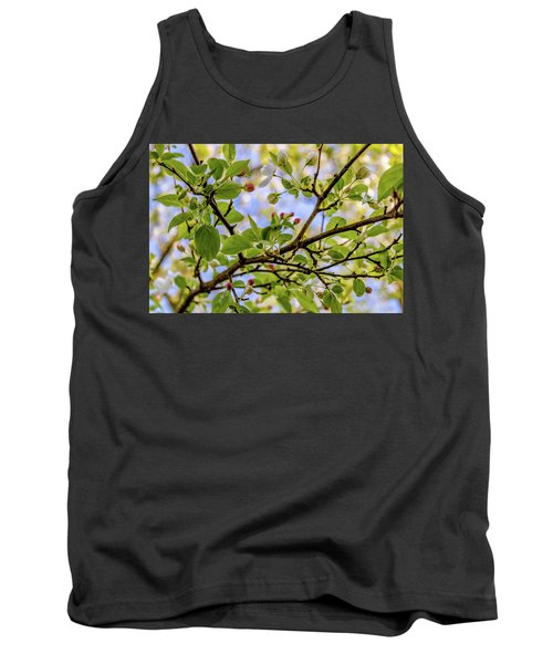 Blossoms And Leaves Tank Top
