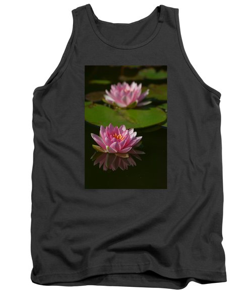 Blossoms And Lily Pads 9 Tank Top