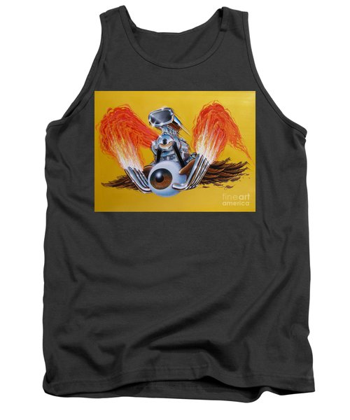 Blown Eyeball Tank Top