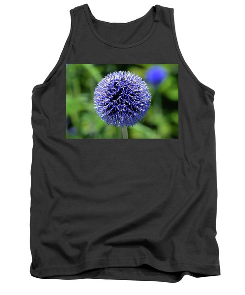Tank Top featuring the photograph Blue Allium by Terence Davis