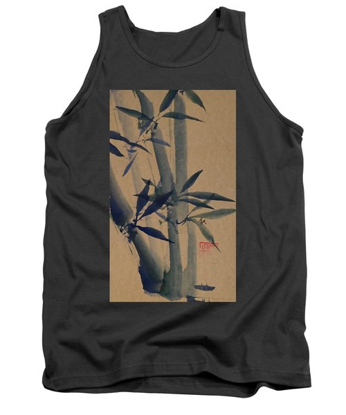 Blue Bamboo Tank Top by Robin Miller-Bookhout