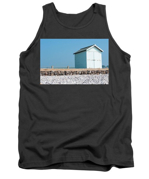 Blue Beach Hut Tank Top