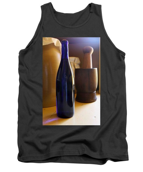 Blue Bottle And Mortar Tank Top