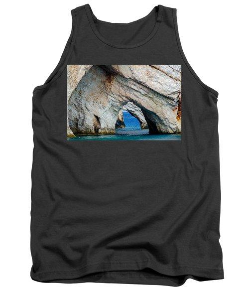 Blue Caves 2 Tank Top by Rainer Kersten