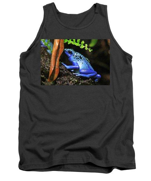 Blue Dart Frog Tank Top