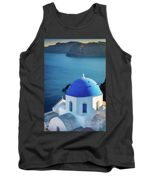 Blue Dome Tank Top