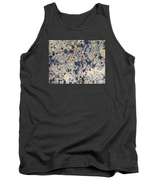 Blue Ecru Tank Top