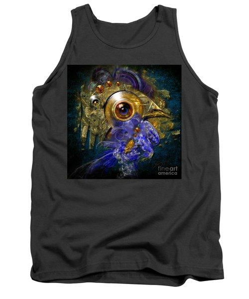 Blue Eyed Bird Tank Top